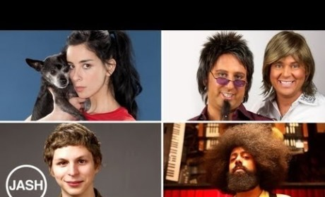Sarah Silverman, Michael Cera Launch JASH YouTube Channel at SXSW
