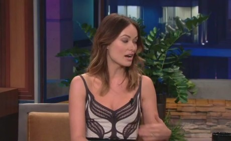 Olivia Wilde Reads Justin Bieber Fans' Hate Tweets on Tonight Show