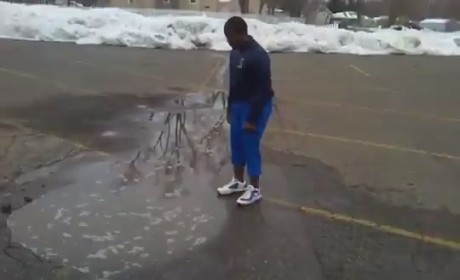 Puddle Jump Fail: Springtime Fun Goes Too Far