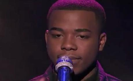 Burnell Taylor - Flying Without Wings (American Idol Top 10)