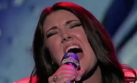 Kree Harrison - Crying (American Idol Top 10)