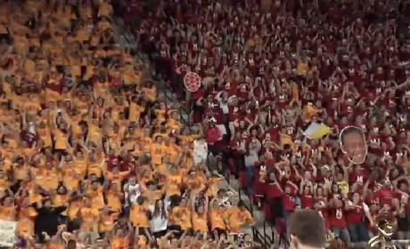 Maryland Harlem Shake, Flash Mob Take Over Entire Arena