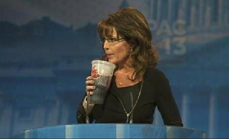 Palin Big Gulp at CPAC