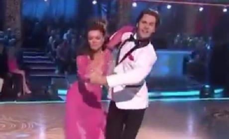 Lisa Vanderpump Dancing With the Stars Performance (Week 1)