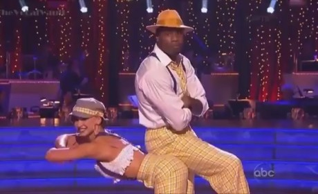 Jacoby Jones - Dancing With the Stars Week 2
