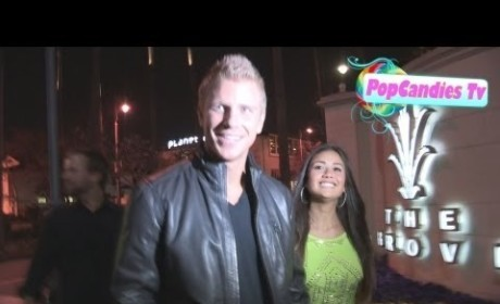 Sean Lowe and Catherine Giudici on the Street