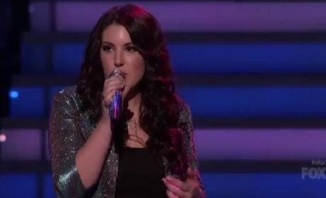 "Kree Harrison - ""Don't Play That Song (You Lied)"""