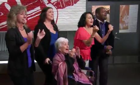 Karina Igelsias - The Voice Blind Audition