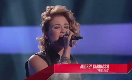 Audrey Karrasch - The Voice Blind Audition