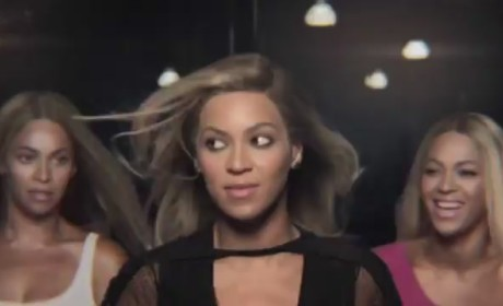 Beyonce Pepsi Commercial: Dancing With Herself!
