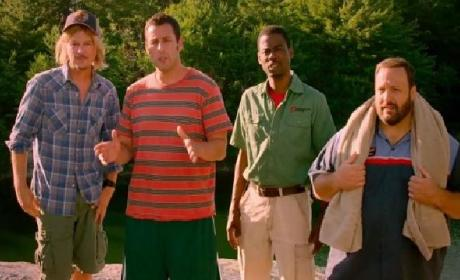 Grown Ups 2 Trailer: Shaq is Arresting