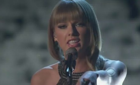 Taylor Swift Joins Tim McGraw and Keith Urban at Academy of Country Music Awards