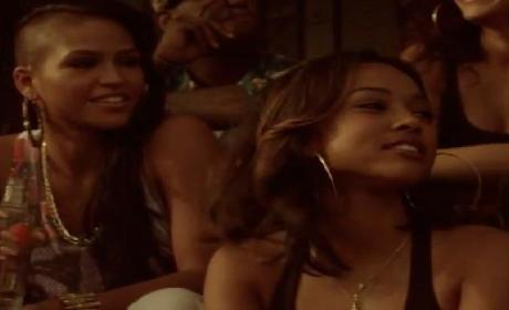 "Karrueche Tran in Cassie ""Paradise"" Video: Sneak Peek!"