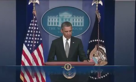 Obama Statement on Boston Bombing