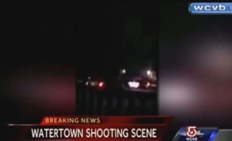 Boston Bombing Suspect Shootout