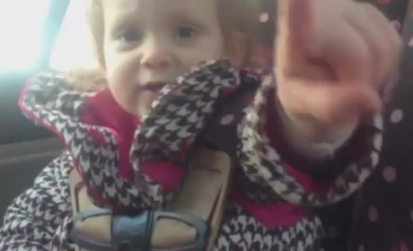 Little Girl Teaches Father a Lesson in Self-Sufficiency