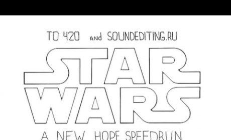 Star Wars: A New Hope in 60 Seconds!