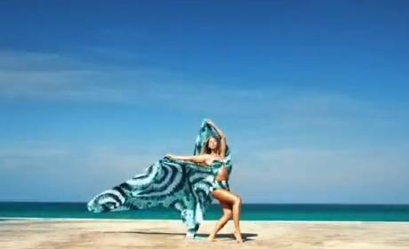 Beyonce Previews New Song, Rocks Bikini on a Beach