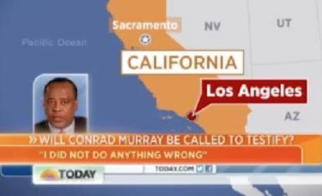 Conrad Murray on Today