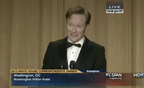 Conan White House Correspondents Dinner Speech 2013