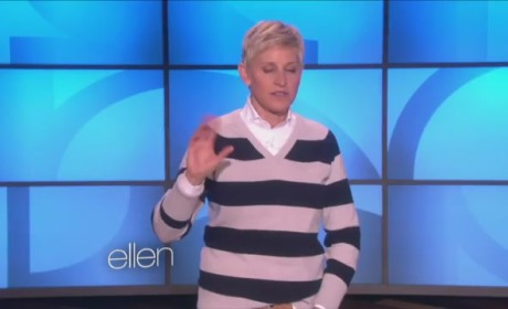 Ellen DeGeneres Supports Jason Collins