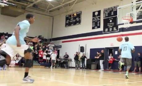 Soccer Style Alley-Oop: One Awesome Hybrid Sports Highlight!