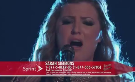 Sarah Simmons - Angel (The Voice)