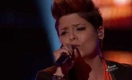 Karina Iglesias - Let's Stay Together (The Voice)