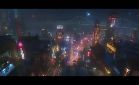 Big Hero 6 San Fransokyo Footage