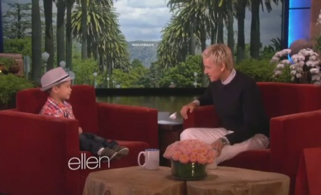 Kai Performs on Ellen, Makes Bruno Mars Proud