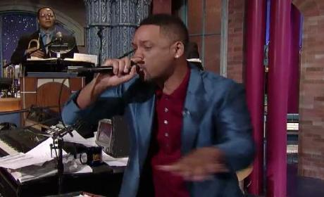 "Will Smith Raps ""Summertime"" on Late Show: Watch Now!"