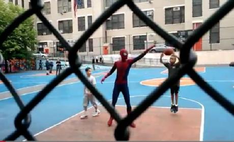 Andrew Garfield: Balling with Kids as Spider-Man?