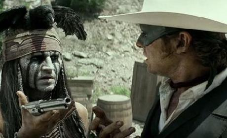 The Lone Ranger Trailer - New