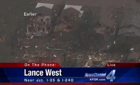 Oklahoma Reporter Breaks Down, Cries on Camera at Tornado Scene