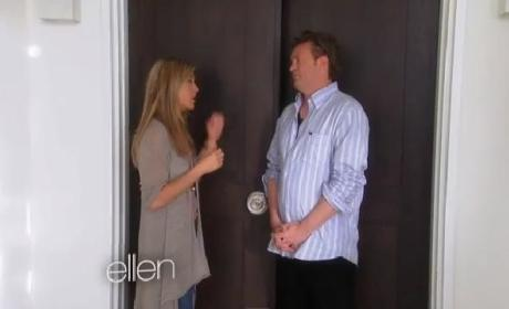 Jennifer Aniston Reunites with Matthew Perry
