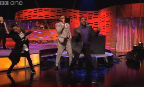 Fresh Prince Reunion: Staged on The Graham Norton Show! Amazing!