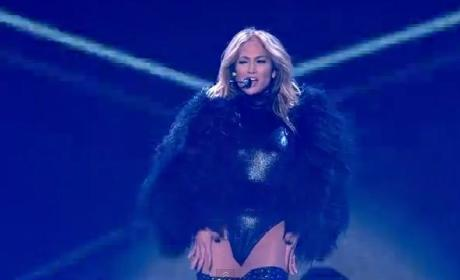 Jennifer Lopez Performs on Britain's Got Talent