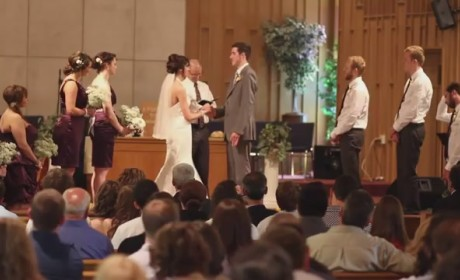 Couple Exchanges Vows, Breaks into Harlem Shake