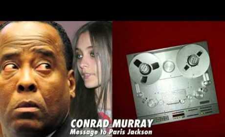 "Conrad Murray Leaves Paris Jackson Bizarre Pay Phone ""Letter"""