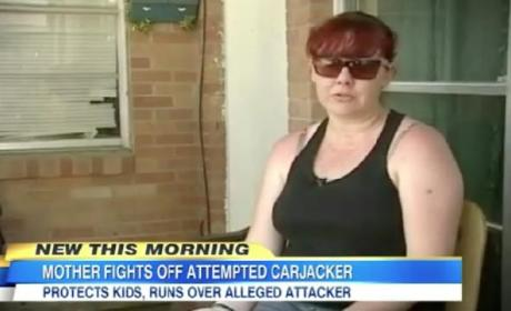 Mom Fights Off Carjacker