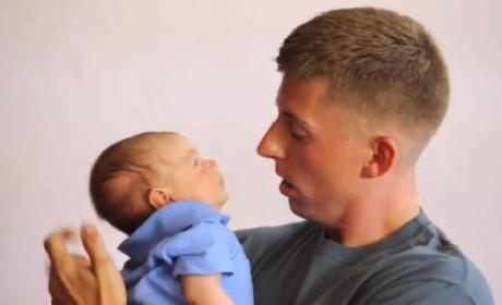 Military Dad Reunites with Family