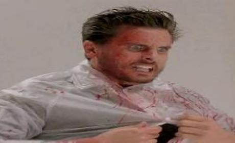 Scott Disick Channels American Psycho in Promotion of Yeezus