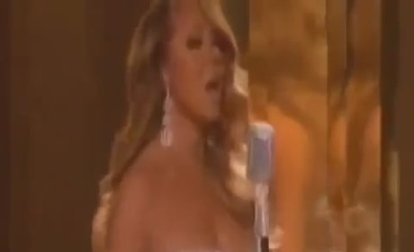 Mariah Carey: Lip-Synching at the BET Awards?