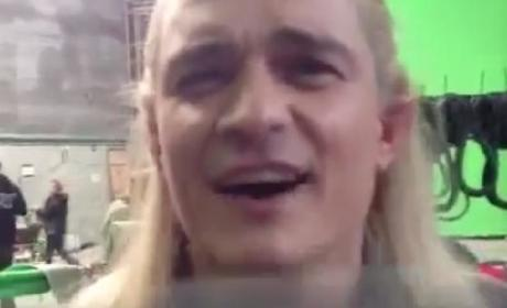 Orlando Bloom Says Goodbye to Legolas