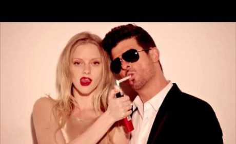 "Robin Thicke ""Give It 2 U"" Single: Even More Inappropriate Than ""Blurred Lines""!"