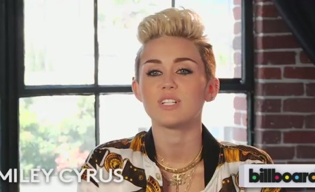 Miley Cyrus Lists Favorite Singers