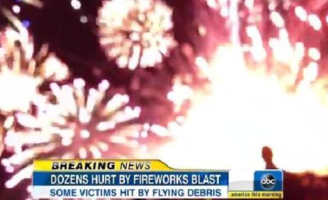 Simi Valley Fireworks Explosion