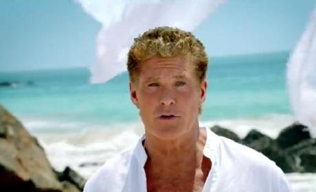"David Hasselhoff ""Thirsty for Love"" Commercial"