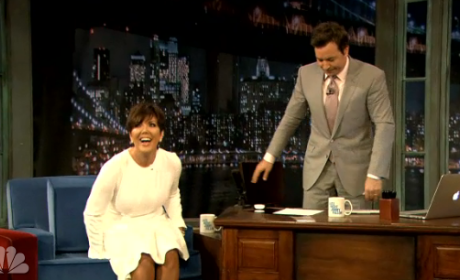 Kris Jenner on Jimmy Fallon
