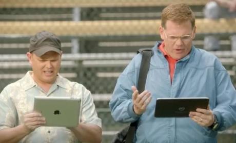 Windows Ad Mocks iPad